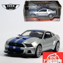 Meritor figure maisto 2014 ford mustang GT speed men unto them the main drive model of the alloy