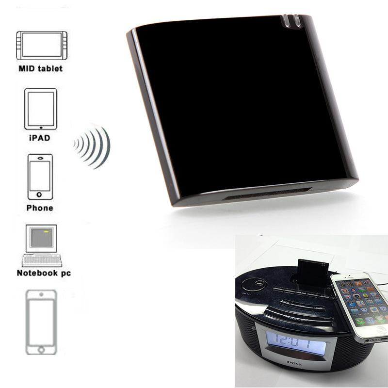 30Pin Dock APT-X Mini CSR4.0 Bluetooth Receiver A2DP Music Receiver Bluetooth for iPad iPod iPhone CSR4.0-7450(China (Mainland))