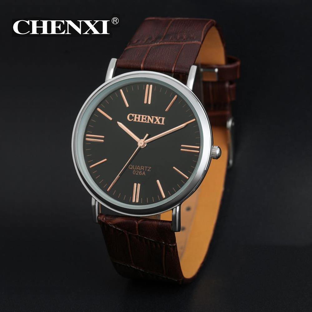 2016 Watches Men Luxury Brand Wrist Watch 2016 Fashion Relogio Masculino quality Leather Men Quartz Watch Analog Relojes(China (Mainland))