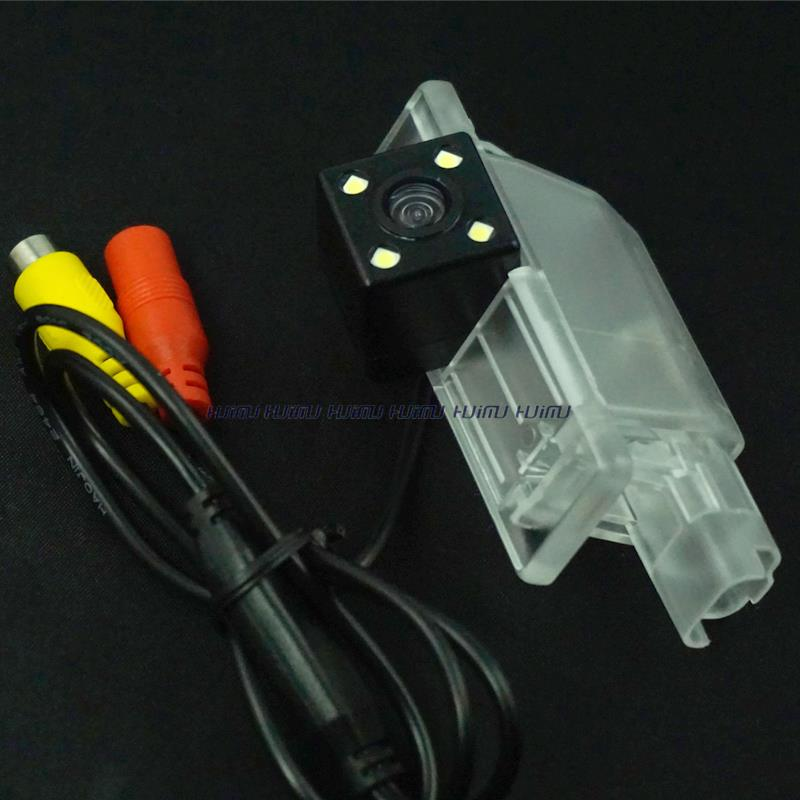 wire wireless car rear backup camera CCD HD with LEDS night vision for 2015 Peugeot 2008 parking reverse camera waterproff(China (Mainland))