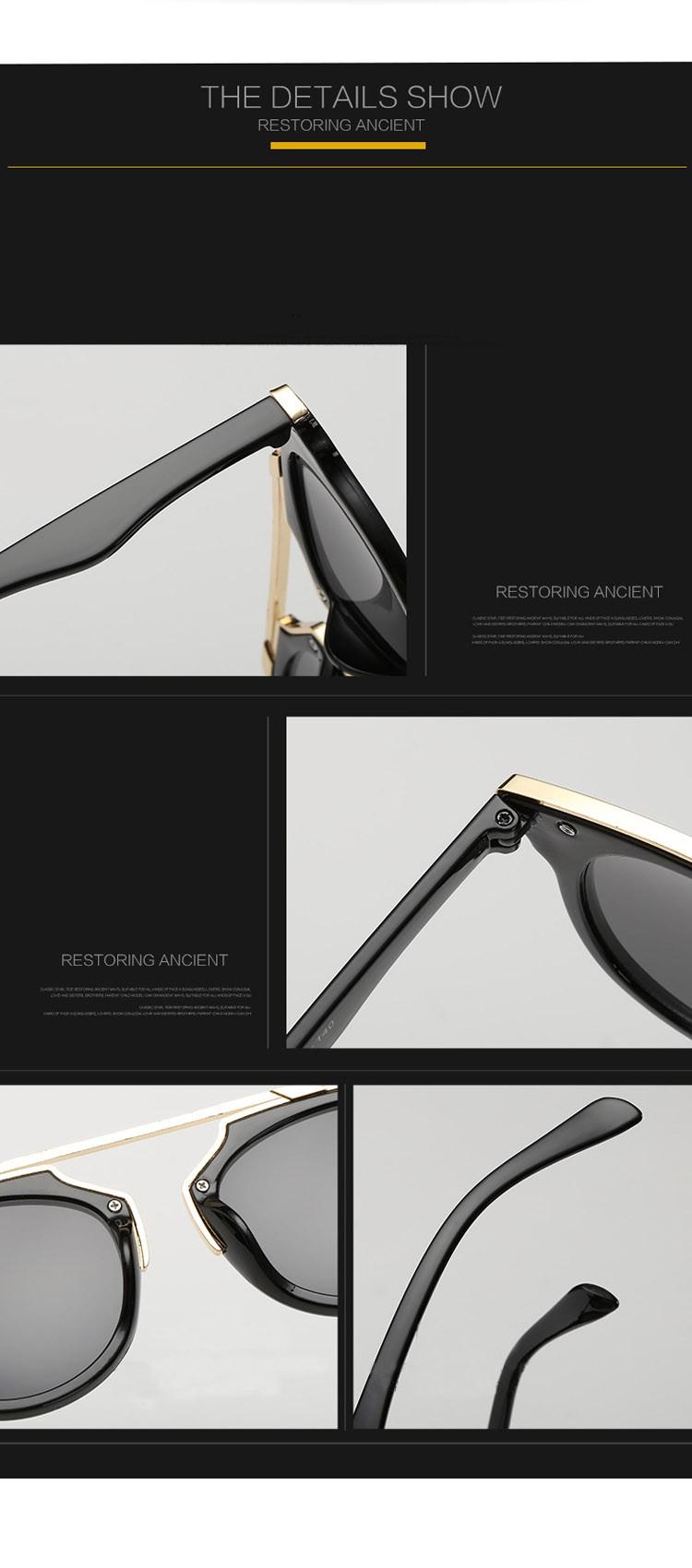 Новая Мода Cat Eye Солнцезащитные Очки Женщины Марка Designer Vintage Солнцезащитные Очки Мужчины Женщины Uv400 Очки Óculos Де Золь Feminino MA017