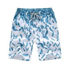 MoneRffi Mens Swimwear Quick Dry Curto Calça 4XL Unisex Verão Troncos Prancha de Surf Esportes de Praia de Algodão Solto Plus Size Pant calças(China)