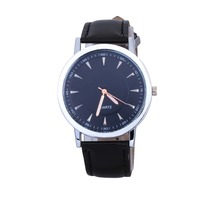 Nueva moda Casual relojes para hombres, marca de lujo de cuero correa de reloj de cuarzo, Ultra delgado hombres de relojes ocasionales libera el envío
