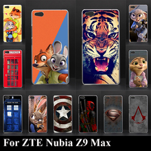 Buy ZTE Nubia Z9 Max Hard Plastic Mobile Phone Cover Case DIY Color Paitn Cellphone Bag Shell Free for $1.26 in AliExpress store