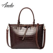 AMELIEGALANTI 2016 fashion women handbag famous designer brand bags pu women totes bag vintage serpentine shoulder bag trapeze(China (Mainland))