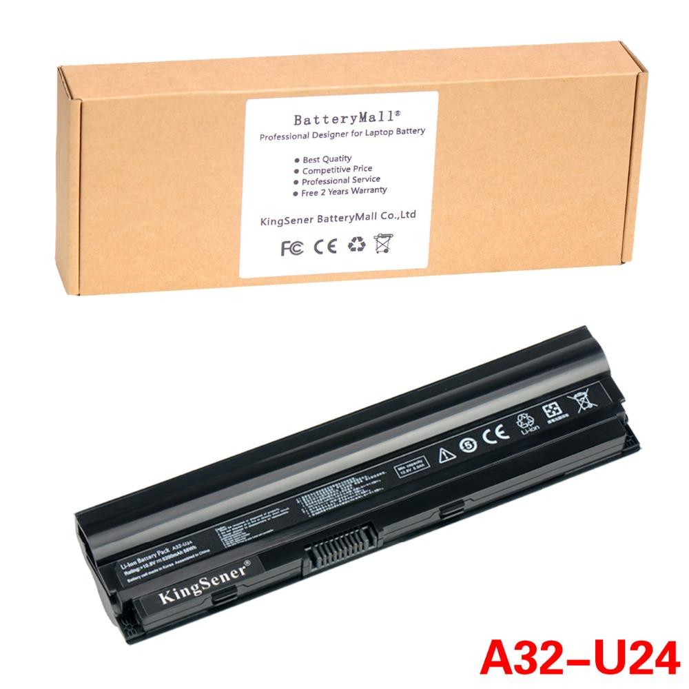 5200mAh Original Quality New Laptop Battery for ASUS U24 U24A U24E U24A-PX3210 U24E-PX053D U24E-XH71 X24E P24E A32-U24 A31-U24<br><br>Aliexpress