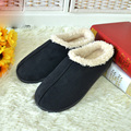 2016 Winter Women Men Indoor Hommer Floor Warm Slippers Lovers House Shoes Anti Skid Cotton Slippers