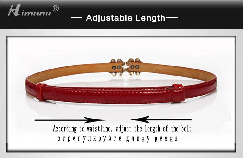 î himunu newest serpentine á thin thin belts for