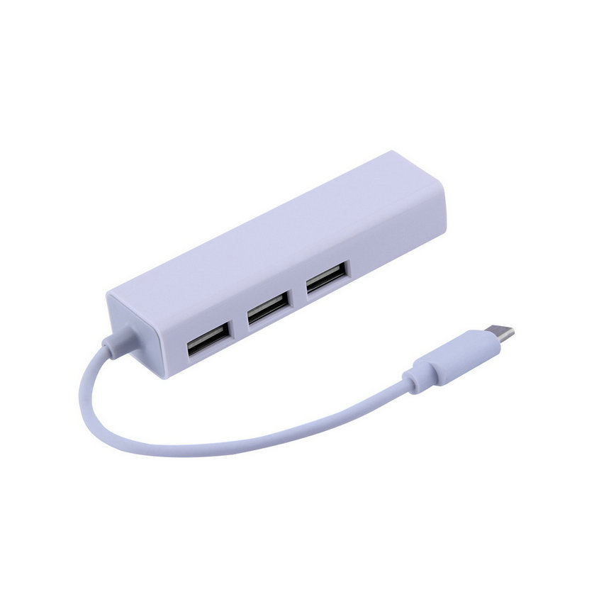 New USB 3.1 Type C USB-C Multiple 3 Ports Hub with Ethernet Network LAN Adapter Wholesale<br><br>Aliexpress