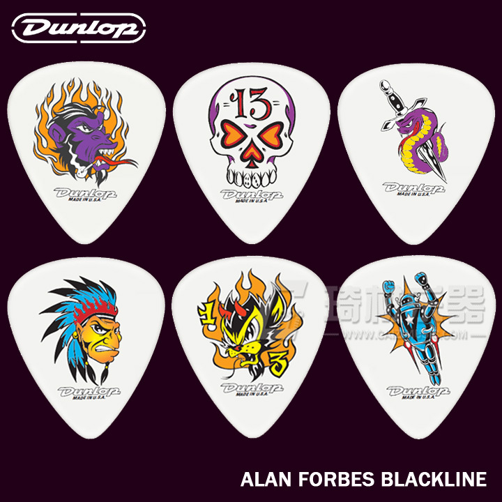 Min Order 6PCS Genuine Dunlop Blackline Collection Series Picks Jazz Guitar Picks Acoustic Guitar Parts Guitarra Accessories(China (Mainland))