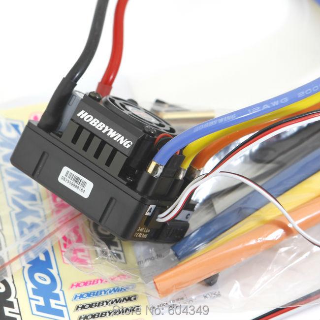 RC Model XERUN SCT PRO Black 120A RC Brushless Motor ESC Speed Controller black colorFreeshipping(China (Mainland))