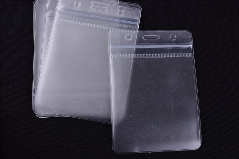 50pcs Vertical Clear Plastic ID Card Cace Badge Holder Card ID Multi Transparent Exhibition card 96mm*156mm<br><br>Aliexpress