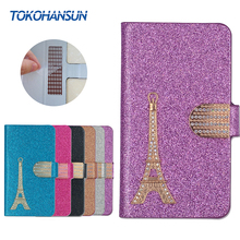 Buy Oukitel C5 Case Luxury Bling Flip Wallet Effiel Tower Diamond 2017 New Hot PULeather cover TOKOHANSUN Brand for $4.39 in AliExpress store