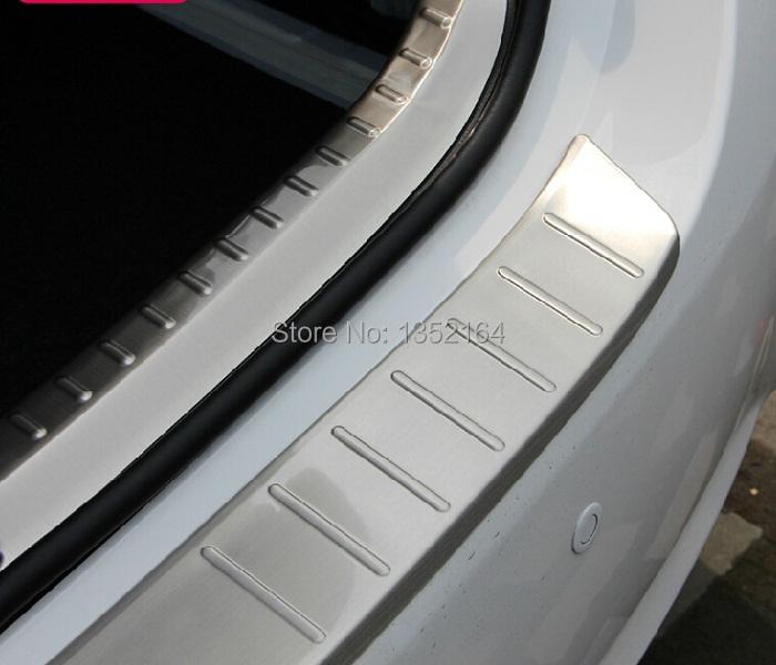 auto rear bumper protector trim trim interior and exterior for toyota toyota corolla 2014. Black Bedroom Furniture Sets. Home Design Ideas