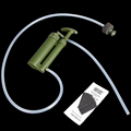 AOTU Portable Outdoor Water Filter Purifier Pump Nano Metal Clusters Water Purification Media Outdoor Camping Survival