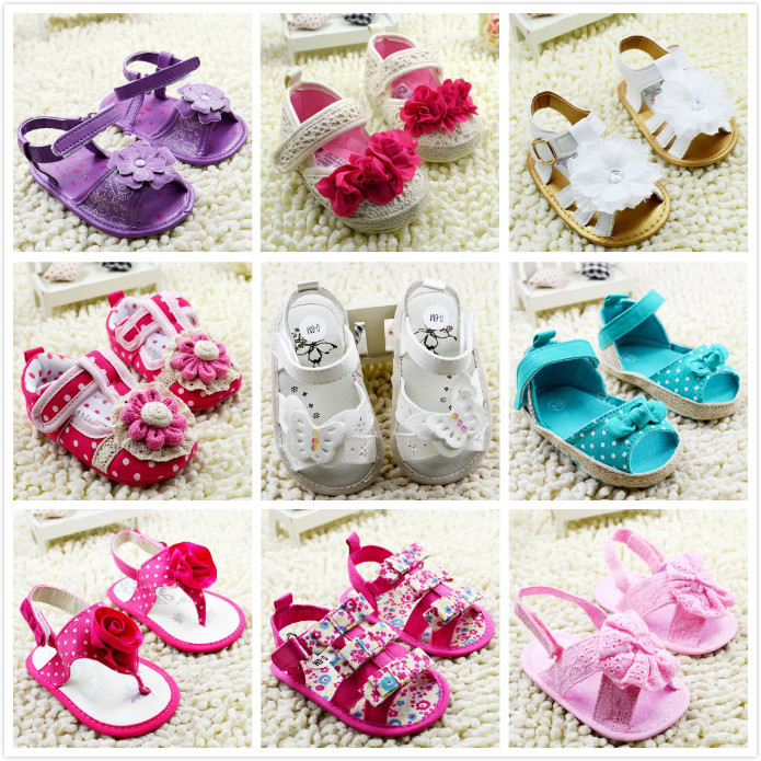 2015 Summer Sandal New Fashion Baby Girl And Baby Boy Shoes Toddler Shoes Baby Fit 0-12 Months(China (Mainland))