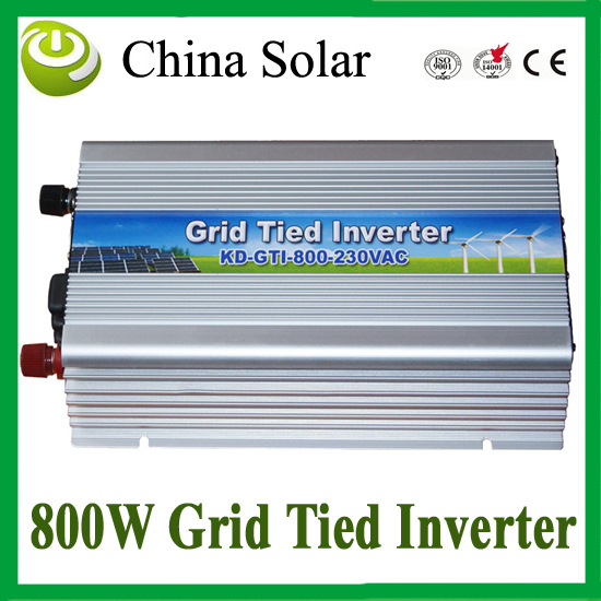 800W Grid Tie Micro Inverter DC10.5-28V Pure Sine Wave Solar Inverter with MPPT Function + 3 years warranty(China (Mainland))