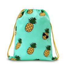 2015 U-PICK New Design Drawstring Backpack 100% Polyester 4 Color Pattern Drawstring Bag for Sport Camping Hiking Swiming