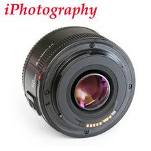 Buy Yongnuo YN50mm F1.8 lens AF/MF Standard Prime Lens YN 50mm f1.8 lens Canon EOS Rebel Camera for $46.74 in AliExpress store