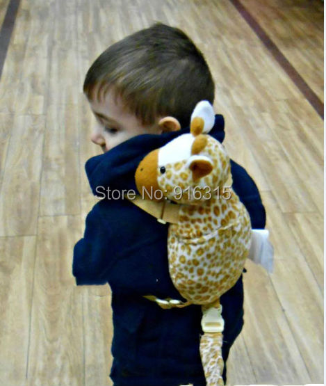 30 styles Cute Baby Harness buddy goldbug 2 in 1 Backpack Harness Kid Keeper Baby Carrier Plush Toy Bag Animal Fun Backpack