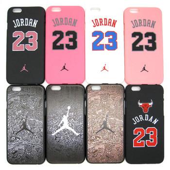 Fashion Michael Jordan 23 Chicago Hard Plastic Ultra Thin Back Cover for Apple iPhone 6 6s 4.7'' Air Jordan Slim Phone Case Skin