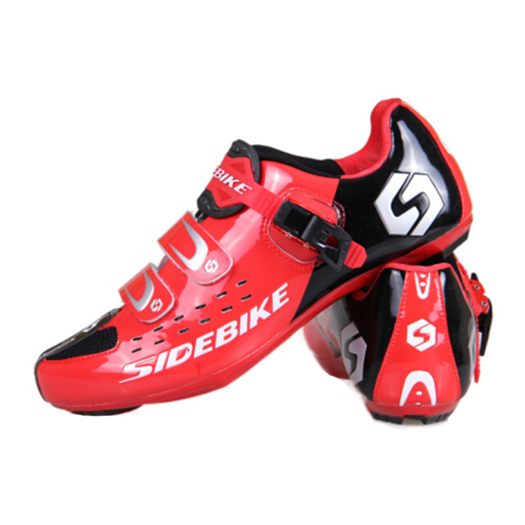 New SIDEBIKE 2015 Triathlon Breathable bicycle Shoes Ultralight Bicycle Road Cycling Shoes Athletic Shoes Nylon TPU Soles(China (Mainland))