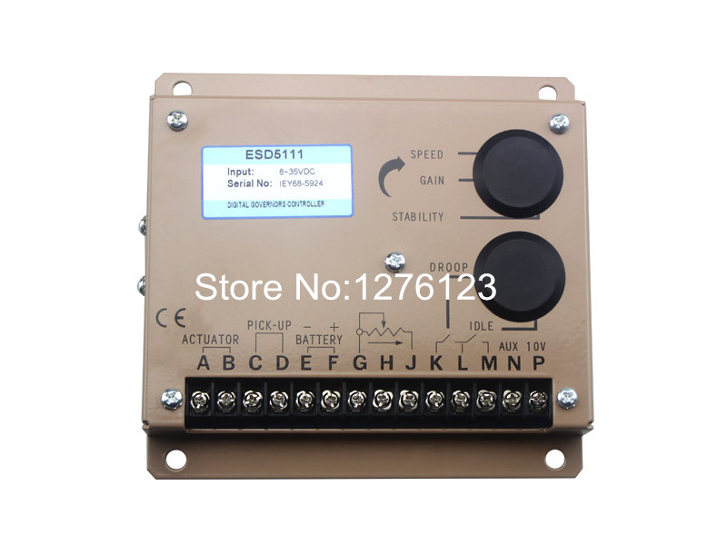 Free Shipping Diesel Engine Speed Control Unit ESD5330 Speed Controller(China (Mainland))