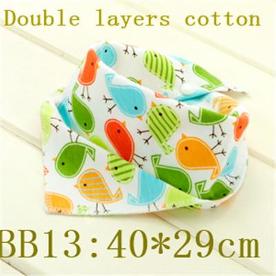 Free shipping 1pc/lot 100% cotton baby clothing girls baby bibs towel bandanas chiscarf ldren cravat infant towel BB13(China (Mainland))