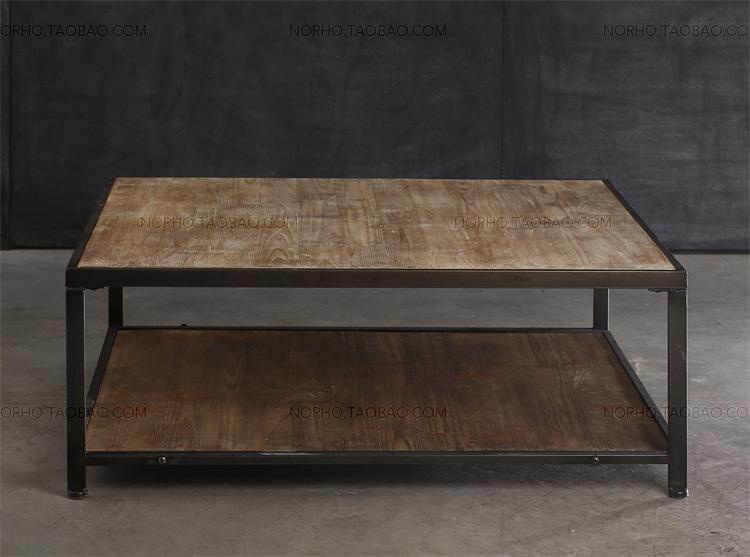 Pays d 39 am rique pour faire le vieux bois forg table basse de fer salon canap quelques vintage - Table basse vieux bois ...