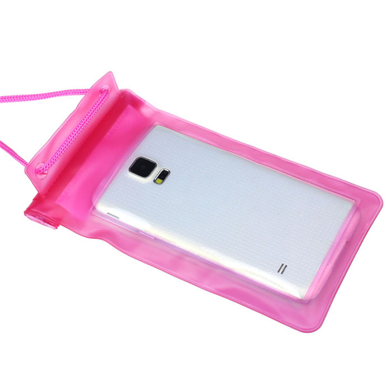 Hot sale 1PC Travel Swimming Waterproof Portable Case Cover Bag For 5.5 inch Cell Phone Puscard(China (Mainland))
