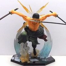 One piece action figure roronoa zoro pvc figuarts collection modle toy original box 2 types available