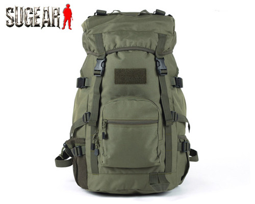 Фотография ROGISI Airsoft Tactical Military Molle 600D Nylon 50L Backpack Outdoor Hiking & Camping Pouch Adjustable Durable Shoulder Bag