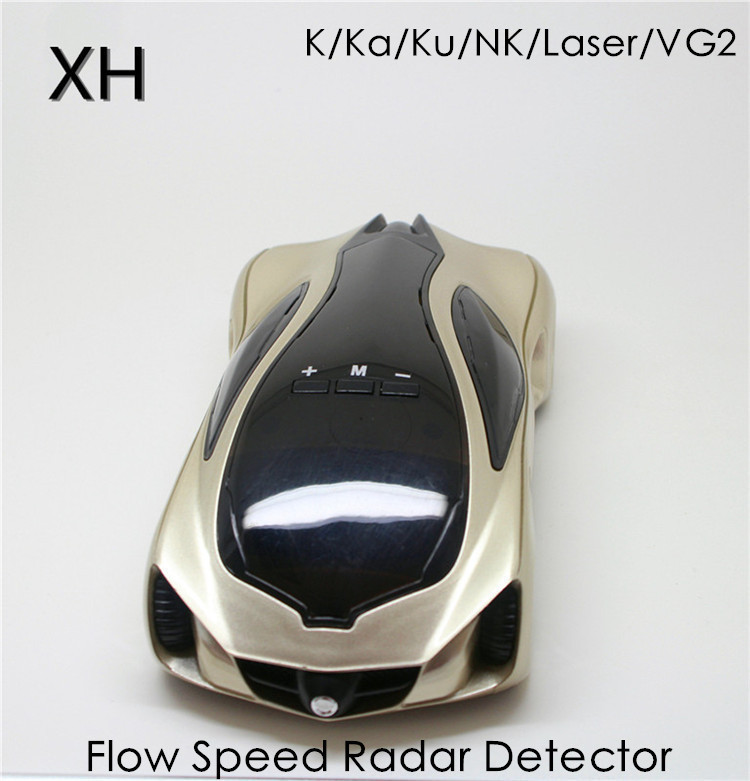 Best Car Style Russian/English Version/360 degree/Anti police Radar Detector for Car Speed Limited/16 band Radar Detector(China (Mainland))