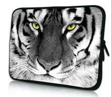 """Animal Prints Nylon Laptop Sleeve Case To Tablet 7"""" 8"""" Pouch Cover For iPad Mini 7"""" Google Nexus 7 Android Tablet Kids e book(China (Mainland))"""