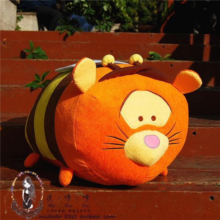 30CM Tsum Tsum Plush doll BEE Original Easter tiger/donkey/pig plush toy TSUM TSUM Pillow doll Collection toy for Christmas gift(China (Mainland))
