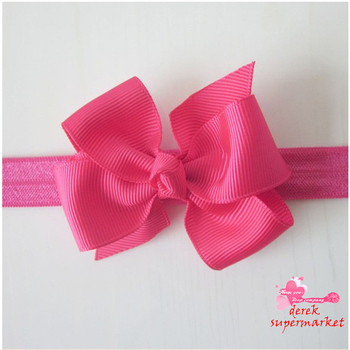 2014 New Baby Bow Headband Hair Bowknot Headbands Infant Hair Accessories Girls Bow Headband Toddler Hairbands Free Shipping