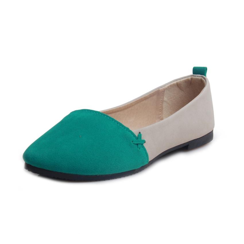 Free Shipping 2015 Women Shoes Women Flat Shoes Casual Loafers Driving Women Shoes Slip-On Suede Flats Shoes Woman(China (Mainland))