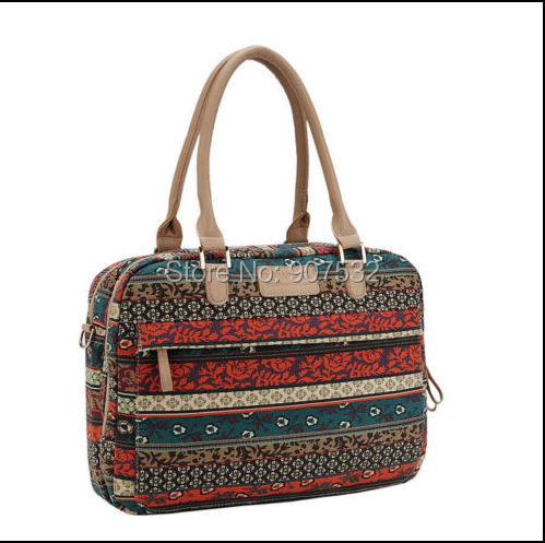 "Bohemian 14"" 14.1"" 14.4"" Computer Canvas Handle Bag Laptop Carrying Case For HP Dell Apple(China (Mainland))"