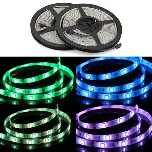 product 2015 Best Sale 2 (5 meters waterproof article 5050 RGB 300 LED lights