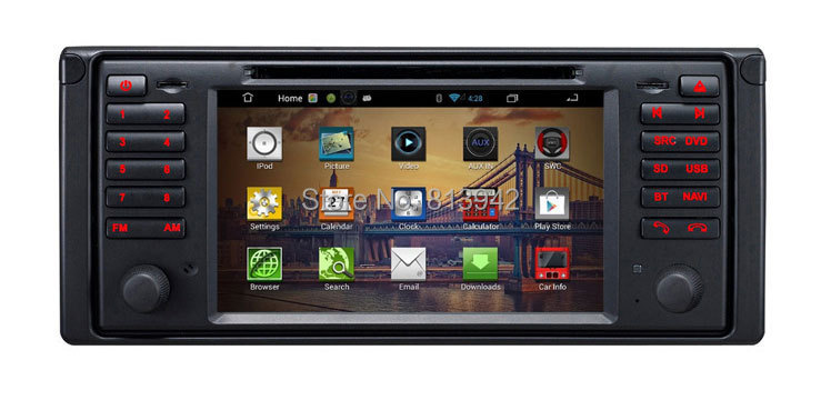 car gps navigation system for bmw x5 e53 with dvd player. Black Bedroom Furniture Sets. Home Design Ideas