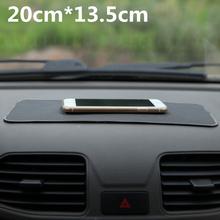 Universal Car Dashboard 20*13.5cm Magic Anti Slip Mat Non-slip Pad For Key Cell Phone Iphone Smart Mobile phone GPS Holders(China (Mainland))