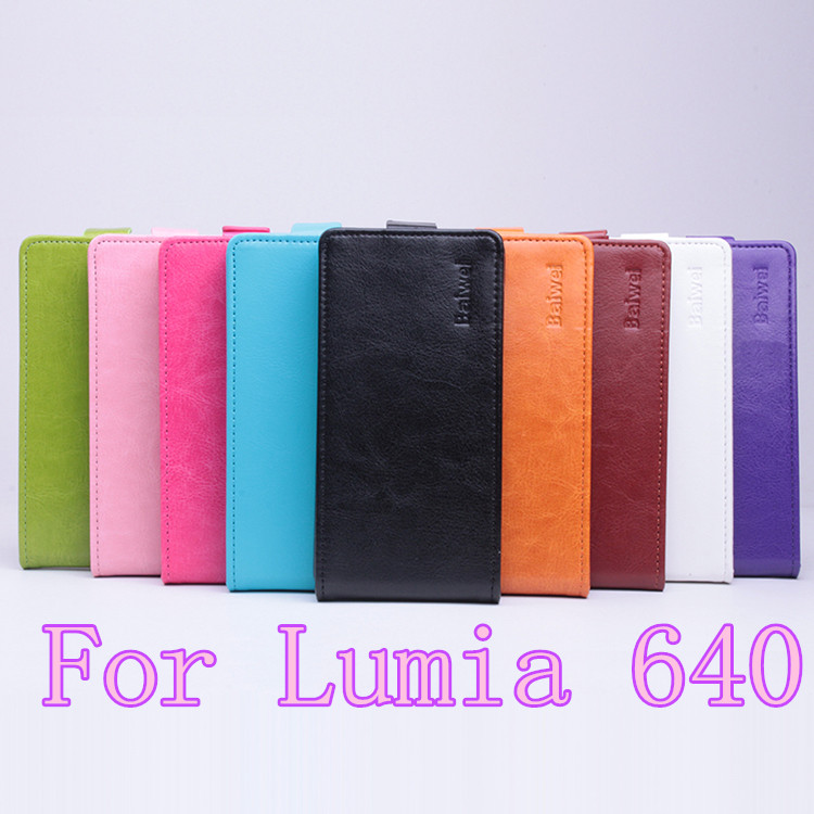 Гаджет  For Microsoft Lumia 640 Case,New High Quality Genuine Filp Leather Cover Case For Microsoft Nokia Lumia640 Case+gift None Телефоны и Телекоммуникации