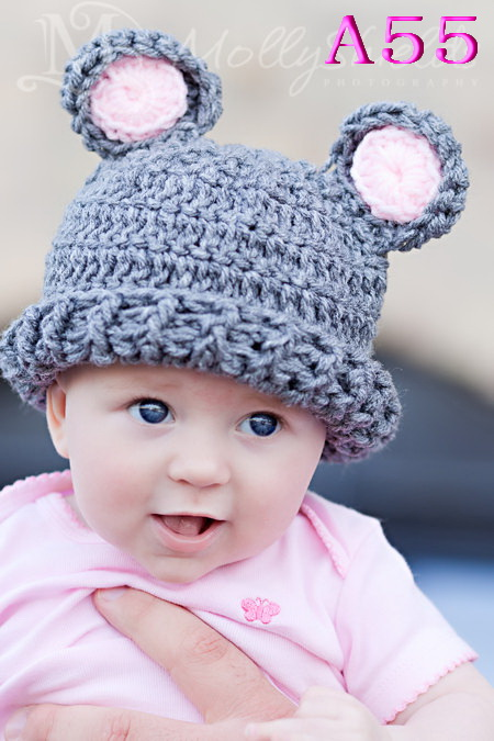 Free shipping Baby Winter Hat Free Crochet Pattern Hat Knitted Hat Beanie Hat(China (Mainland))