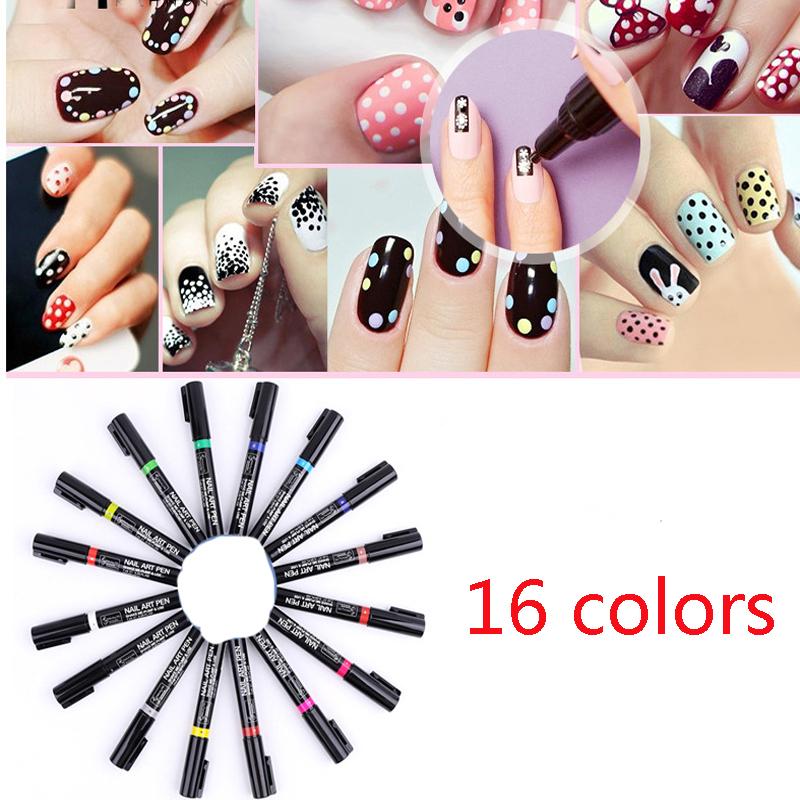 1pc Nail Polish Pen Gel Nail Polish Painting Drawing Pen Nail Art DIY Decoration Tools Manicure Tools Nail Art Pens 15g MJ32035(China (Mainland))