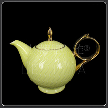 15 yellow coffee luxury bone china coffee set d Angleterre tea set