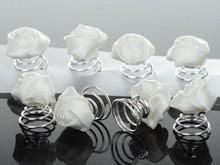 24X Mixed Sprial Bridal Party Wedding Pearl Crystal Rhinestone Hair pin Pins JH01050 HP10