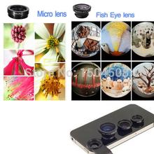 Buy 3-in-1 Wide Angle Macro Fisheye Lens Kit Mobile Phone Fish Eye Lenses Clip 0.67x iPhone Samsung Phone for $1.31 in AliExpress store