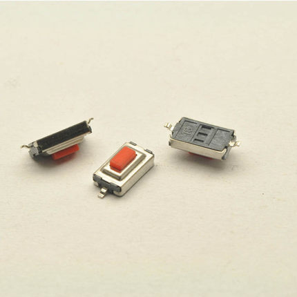 Free shiping 100pcs 3 6 2 5 mm 3 6 2 5H SMD red Button switch
