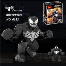 DHL Freeshipping 200pcs Super Heroes Action Figures Building Blocks Educational Minifigures Bricks Toys Big Venom Figures