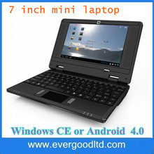 Hot Selling ~ Cheap Chinese Netbook 7inch Mini-Laptop VIA WM8850  Android 4.2 512MB 4GB Notebook Computer(China (Mainland))